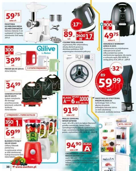 Auchan gazetka promocyjna od 2019-05-24, strona 38