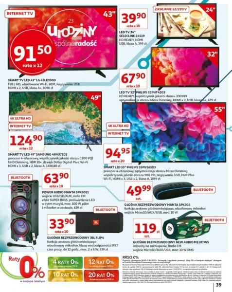 Auchan gazetka promocyjna od 2019-05-24, strona 39
