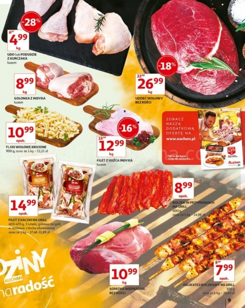 Auchan gazetka promocyjna od 2019-05-24, strona 9