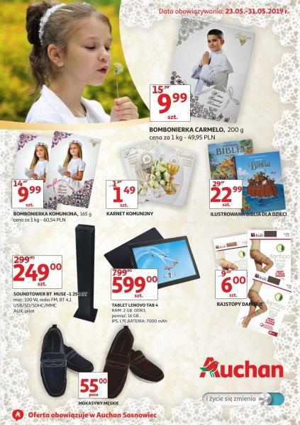 Auchan gazetka promocyjna od 2019-05-23, strona 1