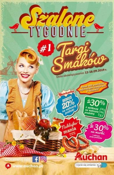 Auchan gazetka promocyjna od 2019-09-12, strona 1
