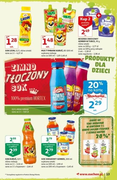 Auchan gazetka promocyjna od 2019-09-12, strona 13