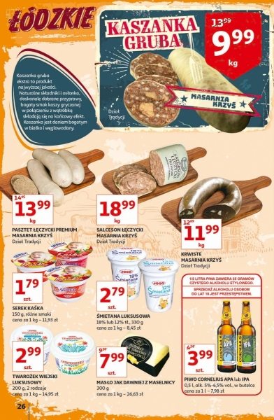 Auchan gazetka promocyjna od 2019-09-12, strona 26