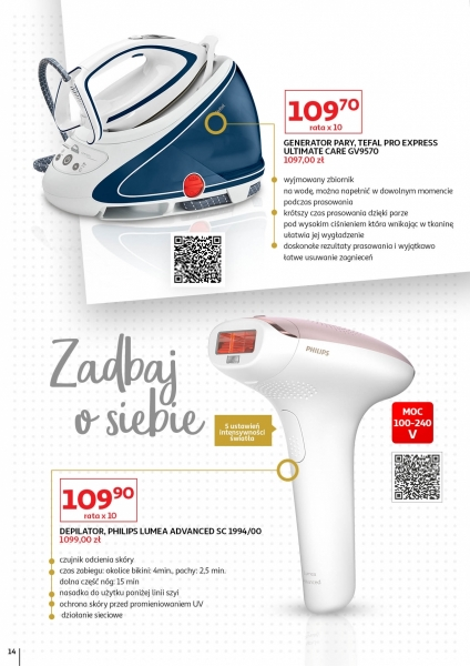 Auchan gazetka promocyjna od 2019-11-02, strona 14