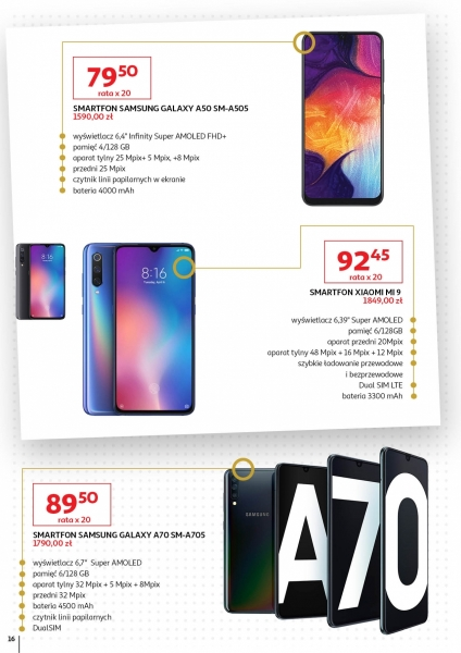 Auchan gazetka promocyjna od 2019-11-02, strona 16