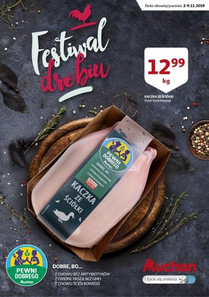 Auchan gazetka promocyjna od 2019-11-02, strona 1