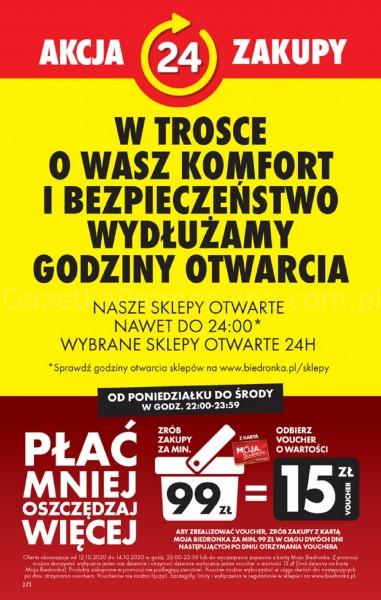 Biedronka gazetka promocyjna od 2020-10-12, strona 2