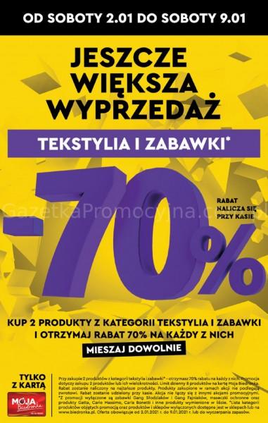 Biedronka gazetka promocyjna od 2021-01-04, strona 32