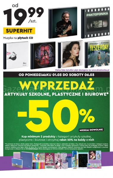 Biedronka gazetka promocyjna od 2021-03-01, strona 15
