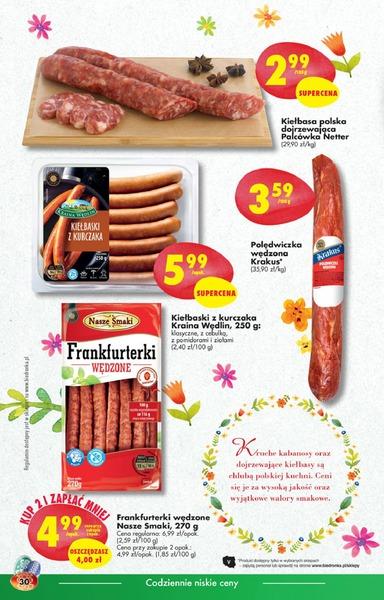Biedronka gazetka promocyjna od 2017-03-20, strona 30