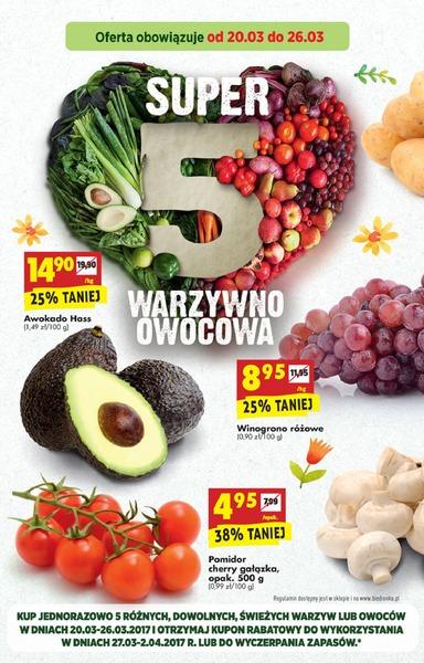 Biedronka gazetka promocyjna od 2017-03-20, strona 8
