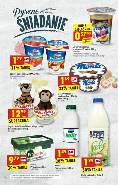 Biedronka gazetka promocyjna od 2017-09-14, strona 14