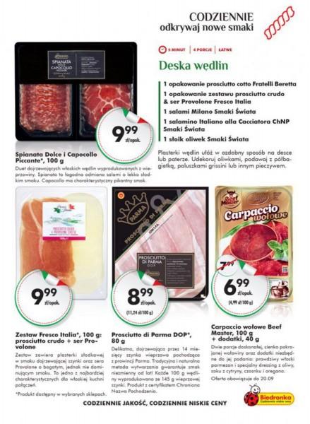 Biedronka gazetka promocyjna od 2017-09-14, strona 19