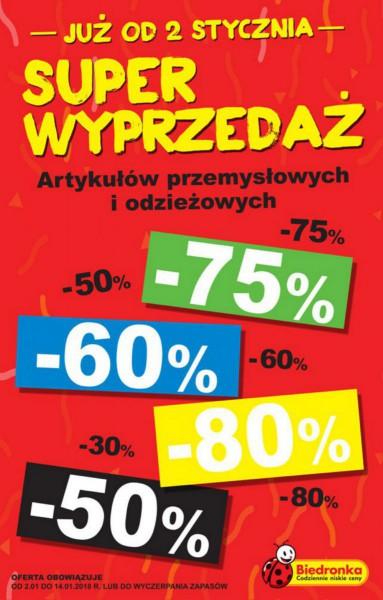 Biedronka gazetka promocyjna od 2018-01-02, strona 16