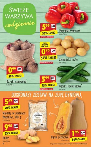 Biedronka gazetka promocyjna od 2018-03-08, strona 10
