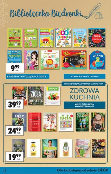 Biedronka gazetka promocyjna od 2018-04-14, strona 12