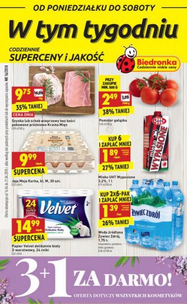 Biedronka gazetka promocyjna od 2018-04-16, strona 1