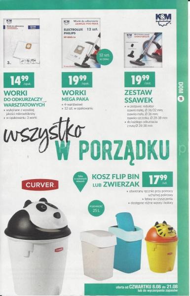 Biedronka gazetka promocyjna od 2019-08-08, strona 15