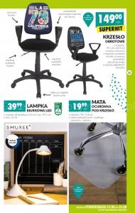Krzesło biurowe w Biedronce • Promocja • Cena