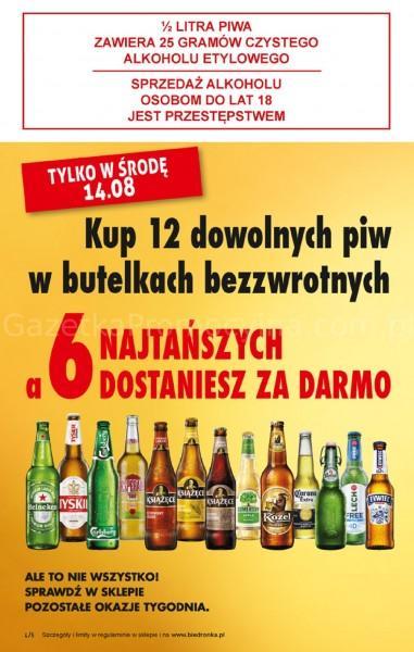 Biedronka gazetka promocyjna od 2019-08-12, strona 4
