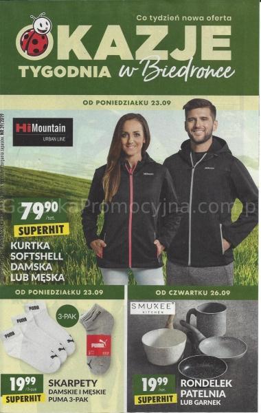 Biedronka gazetka promocyjna od 2019-09-23, strona 1