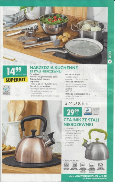 Biedronka gazetka promocyjna od 2019-09-23, strona 19