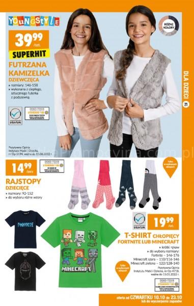 Biedronka gazetka promocyjna od 2019-10-07, strona 21