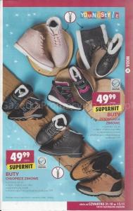 Buty Zimowe Dzieciece W Biedronce Promocja Cena