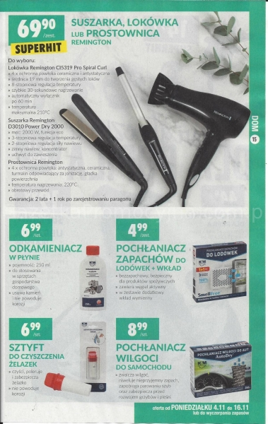 Biedronka gazetka promocyjna od 2019-11-04, strona 15