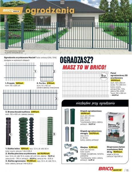 Bricomarche gazetka promocyjna od 2021-03-31, strona 71