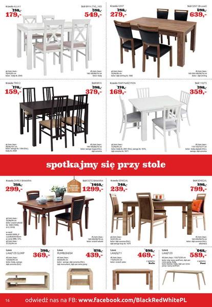 Black Red White gazetka promocyjna od 2017-04-18, strona 16