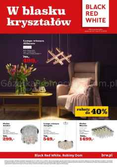 Gazetka promocyjna  Black Red White od 2018-11-16