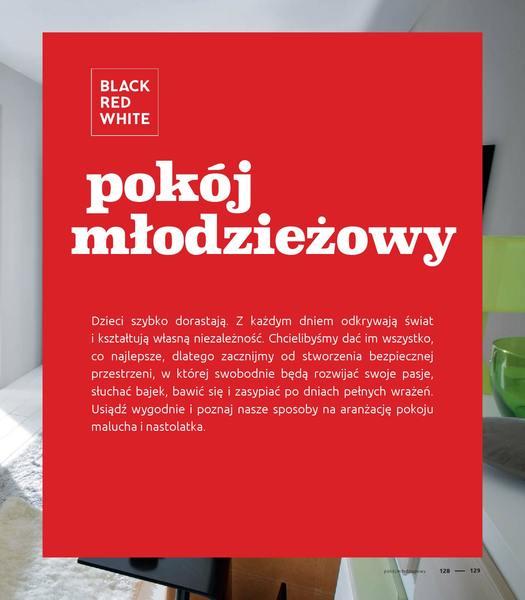 Black Red White gazetka promocyjna od 2016-09-01, strona 129