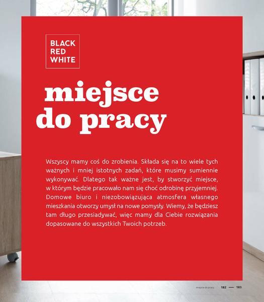 Black Red White gazetka promocyjna od 2016-09-01, strona 183