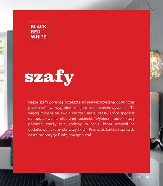 Black Red White gazetka promocyjna od 2016-09-01, strona 255