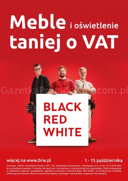 Black Red White gazetka promocyjna od 2019-10-01, strona 1
