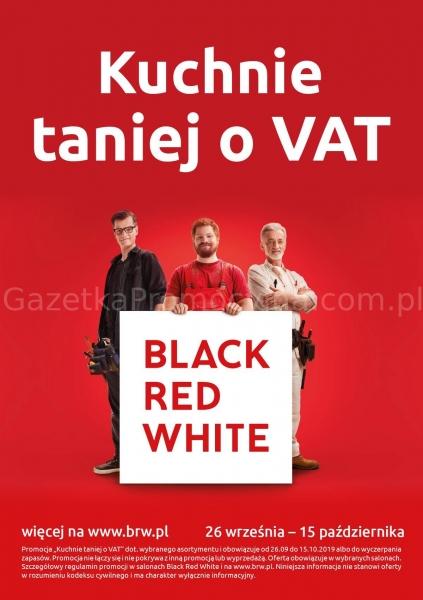 Black Red White gazetka promocyjna od 2019-09-26, strona 1
