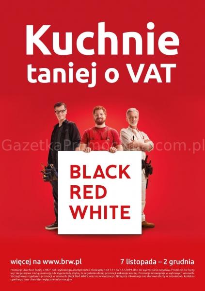Black Red White gazetka promocyjna od 2019-11-07, strona 1