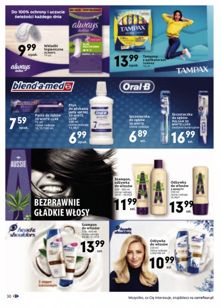 Carrefour gazetka promocyjna od 2020-01-14, strona 30