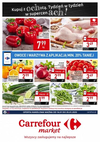 Carrefour gazetka promocyjna od 2020-01-14, strona 1