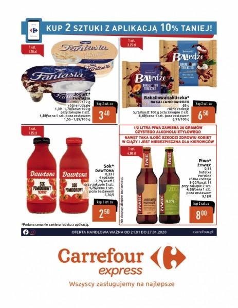 Carrefour gazetka promocyjna od 2020-01-21, strona 1