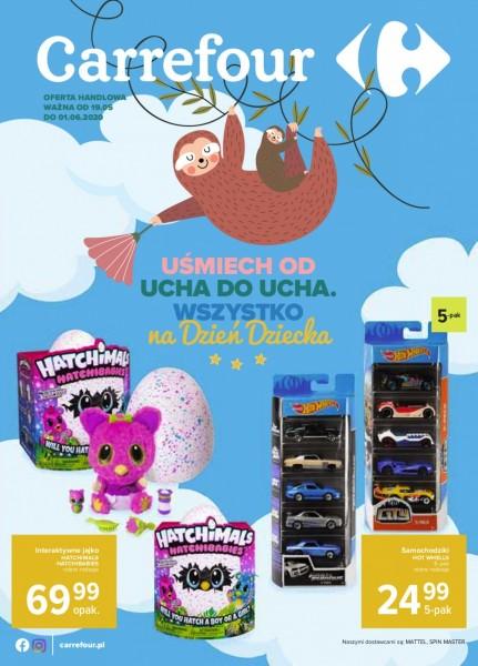 Carrefour gazetka promocyjna od 2020-05-19, strona 1