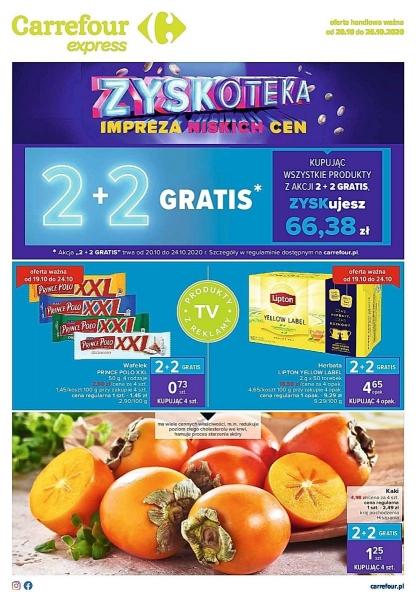 Carrefour gazetka promocyjna od 2020-10-20, strona 1