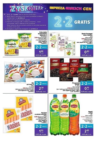Carrefour gazetka promocyjna od 2020-10-20, strona 4
