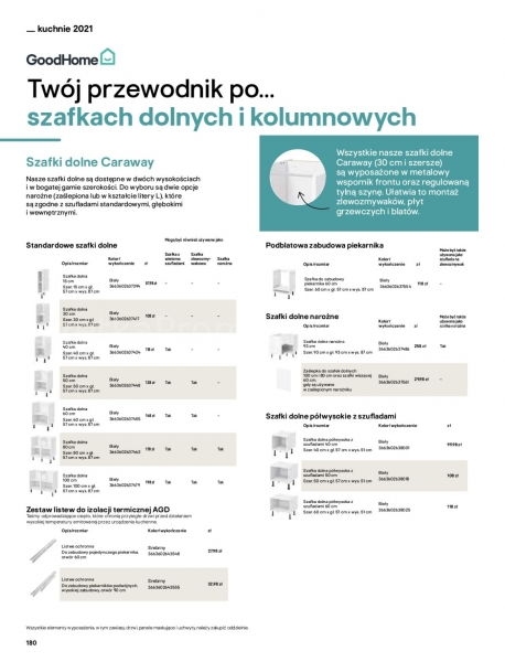 Castorama gazetka promocyjna od 2021-04-13, strona 180