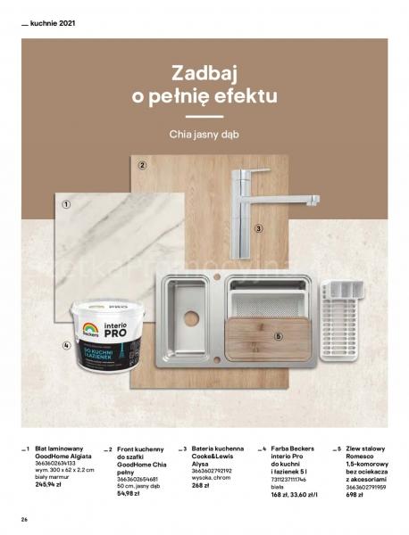 Castorama gazetka promocyjna od 2021-04-13, strona 26