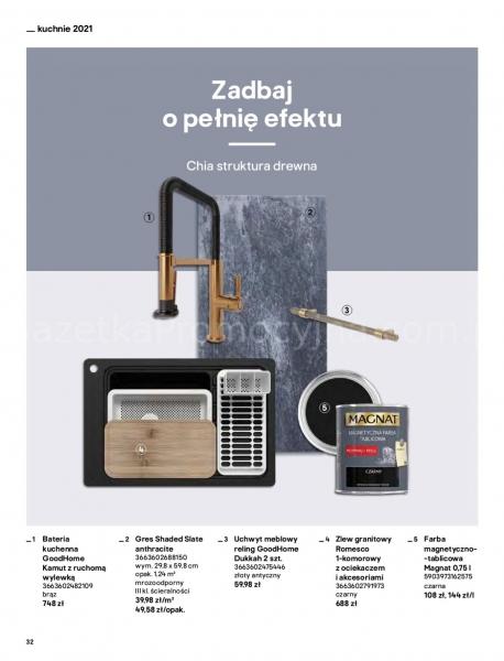 Castorama gazetka promocyjna od 2021-04-13, strona 32