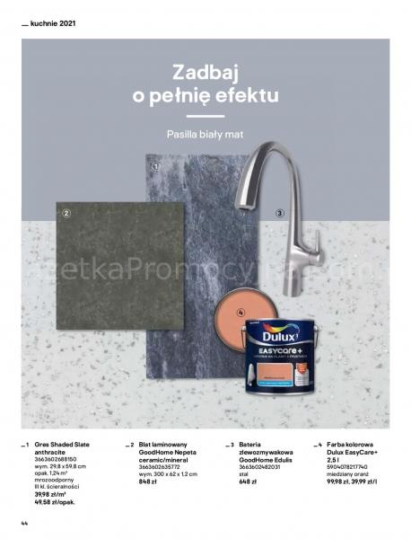 Castorama gazetka promocyjna od 2021-04-13, strona 44