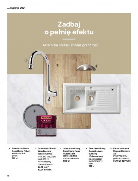 Castorama gazetka promocyjna od 2021-04-13, strona 76