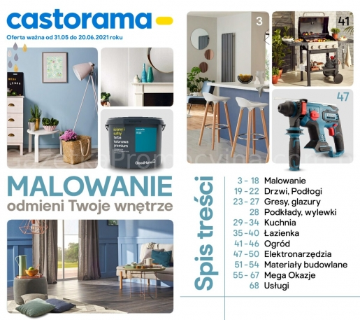 Castorama gazetka promocyjna od 2021-05-31, strona 1